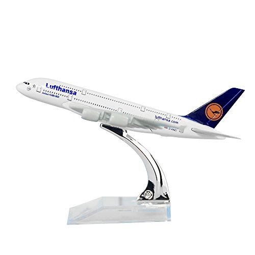 Germany Deutsche Lufthansa AG A380 Solid Metal Alloy Model Aircraft
