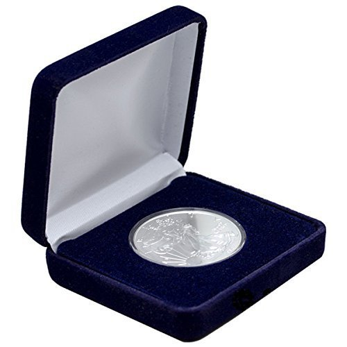 2016 American Eagle 999 1 oz Silver Coin With Velvet Gift Box $1 Brilliant Uncirculated New
