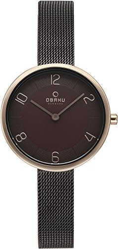 OBAKU watch VAND WALNUT 2 needle V195LXVNMN Ladies