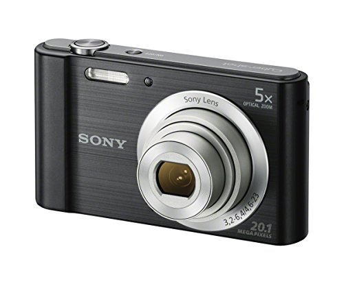 Sony Cyber-shot DSC-W800 Digital Camera (Black) Black Cyber Shot