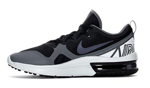 Nike Mens Air Max Fury Scarpa Da Corsa Nero   Multi Colore Grigio Scuro  Nero   5a95844e946