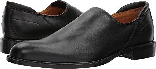 Right Bank Shoe Co¿ Men's Iggy Stretch Calf Loafer Black 11 M US