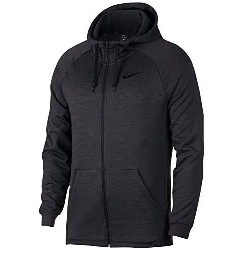 Nike Men's Dry Training Hoodie Black/Anthracite/Dark Grey Size Medium