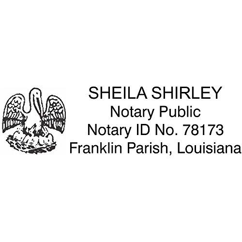 Louisiana Notary Seal - 3