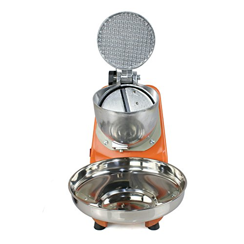 Zenchef Upgraded 300W Electric Ice Shaver Ice Shaved Machine Snow Cone Maker 143 lbs (Orange) by ZenChef (Image #2)