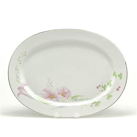 Pink Vista by Studio Nova China Serving Platter  sc 1 st  Amazon.com & Amazon.com   Pink Vista by Studio Nova China Serving Platter ...