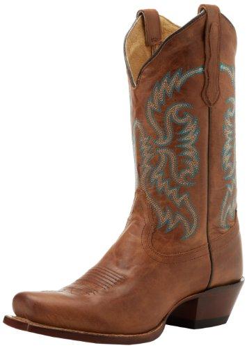 Nocona Boots Women's L Toe With Toe Bug NL5009 Boot,Tan,7 B US