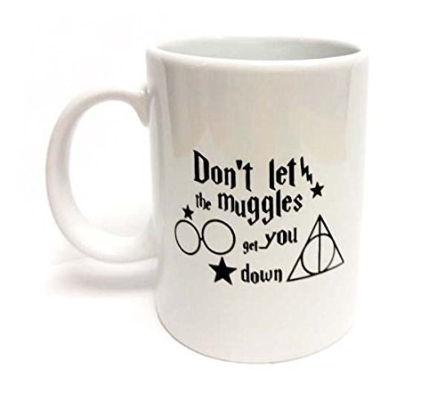 Sweet Dream Don't Let The Muggles Get You Down Office Funny Mug-Magic Coffee Mug-Drink White Ceramic MUG-The Perfect Mug Have a Nice - Fedex On Time Delivered Not