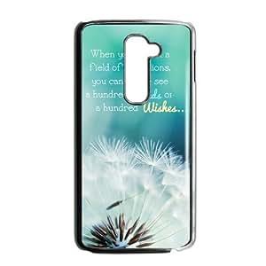 Canting_Good,Dandelion, Custom Case for LG G2