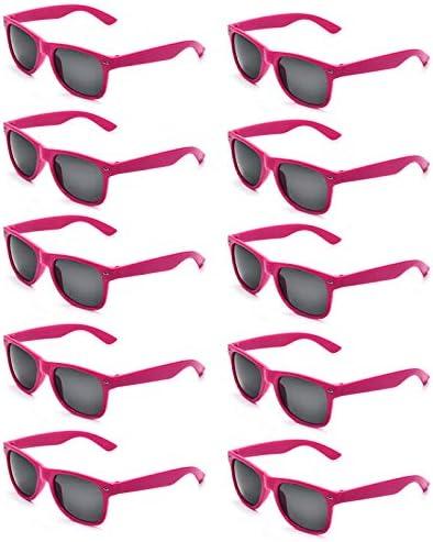 Wholesale Adults Colors Square Sunglasses