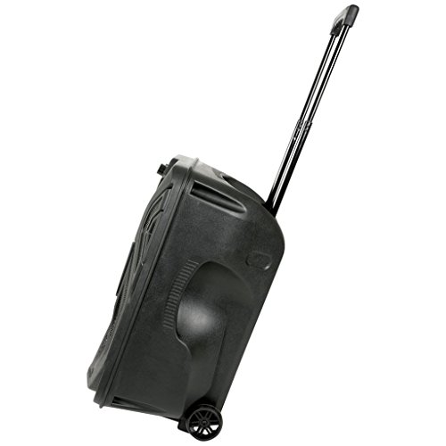 QTX QK12PA Portable 12-Inch Busker PA Speaker System with Rechargeable...