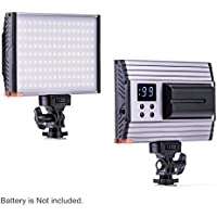 Zeadio Super Bright Bi-Colour Dimmable Camera Camcorder Video LED Light, 3200-5600K 1500LM Digital Control Panel for Canon, Nikon,Pentax,SONY,Panasonic,Samsung and Olympus Digital SLR Camera Camcorder