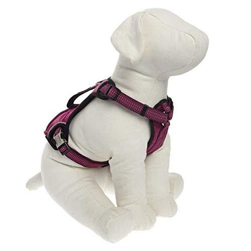 Dog Harness Kong Reflective Pocket X-Large Pink