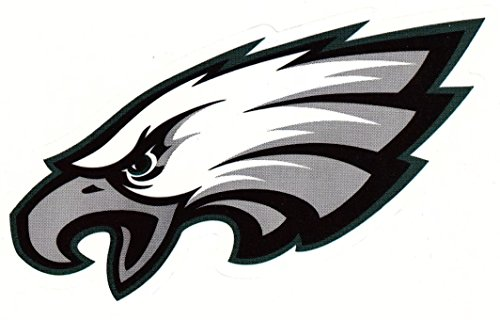 (fb 4 Philadelphia Eagles Die Cut Stickers NFL Football Logo Sticker Team Helmet Set)