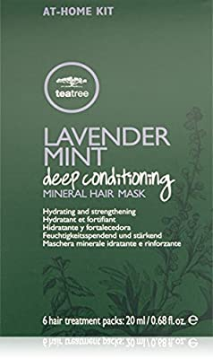 Tea Tree Lavender Mint Deep Conditioning Mineral Hair Mask Set