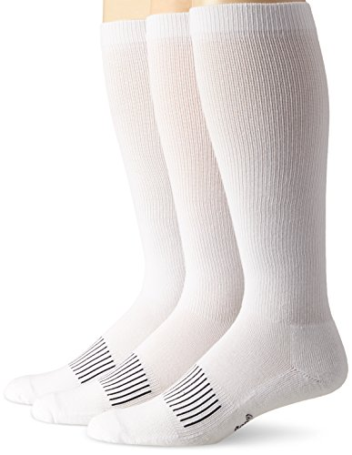 (Wrangler Men's Western Boot Socks (Pack of 3),White,Sock Size:X-Large(12-15)/Shoe Size: 12-16)