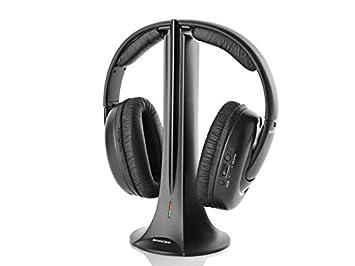 Silvercrest estéreo de auriculares inalámbricos con FM Radio 2,4 GHz: Amazon.es: Electrónica
