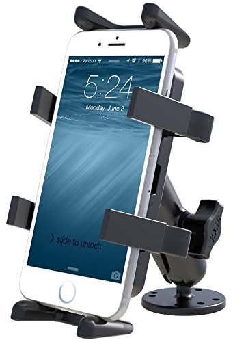 RAM Mounts  Flat Surface Mount with Universal Finger-Grip Ho