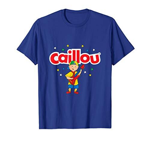 Caillou plays Guitar