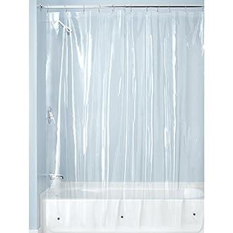 3 InterDesign PEVA Gauge Shower Curtain Liner