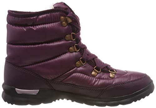 The North Lace Fig Boots Brown vintage 5ug Snow Face Women's shiny Ii Thermoball White RwRZqBar