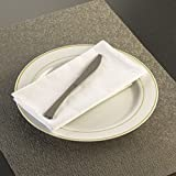 Silver Plastic Glimmerware Plastic Knives 20ct