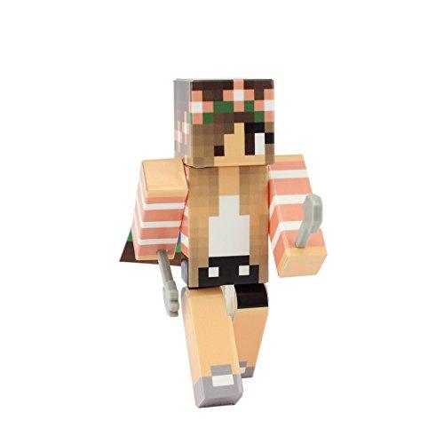 Ender Girl Costume (Spring Girl Action Figure Toy, 4 Inch Custom Series Figurines by EnderToys)