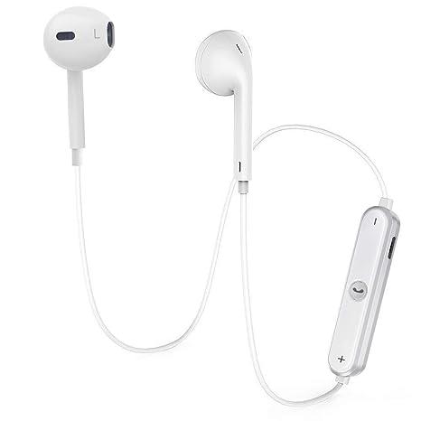Auriculares Bluetooth V4.2 Inalambricos Deportivos,Auriculares Manos Libre Estéreo con Micrófono Cancelación de