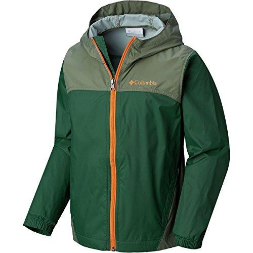 Price comparison product image Columbia Boys' Big Glennaker Rain Jacket,  Forest / Cypress,  Large