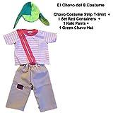Amazon.com: chilindrina disfraces, tamaño de niños 2 T2 ...