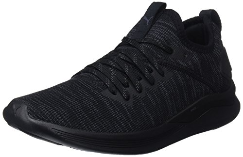 Evoknit Flash Para puma Zapatillas De Cross Wn's Black Puma Mujer Negro 05 Ignite F50qxE