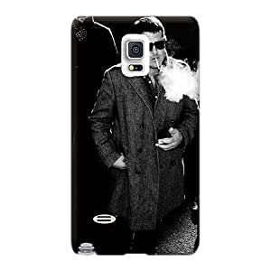 Casesbest88 Samsung Galaxy Note 4 Shockproof Cell-phone Hard Covers Unique Design Nice Interpol Band Pictures [iEd801Pmxm]