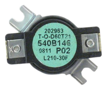 GE WE4M160 Thermostat Safety for Dryer