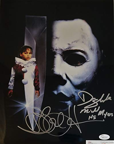 Don Shanks Danielle Harris Dual Autographed Signed 11x14