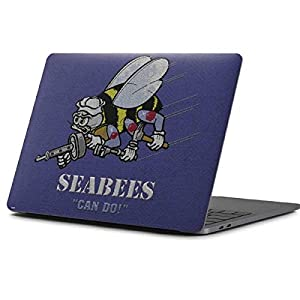 Skinit Seabees Can Do MacBook Pro 13-inch (2016-17) Skin - Officially Licensed US Navy Laptop Decal - Ultra Thin, Lightweight Vinyl Decal Protection from Skinit