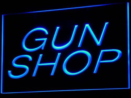 Gun Shop Store LED Sign Neon Light Sign Display i441-b(c)