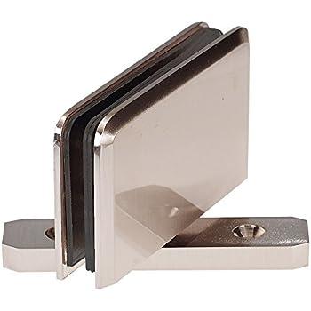 coastal shower doors c3830n paragon top or bottom pivot hinge for frameless heavy glass