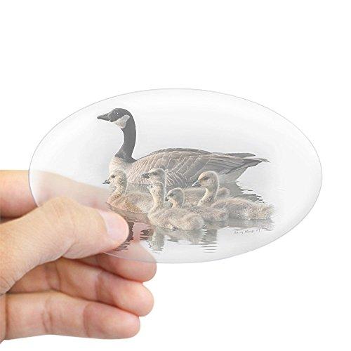 (CafePress Canada Goose Oval Sticker Oval Bumper Sticker, Euro Oval Car Decal)