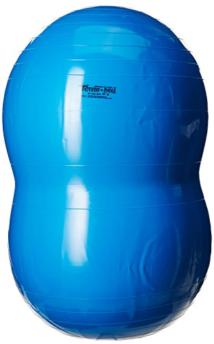 Toymarketing International 8803 Physio Roll Ball, Blue, 28'' x 46'' by Toymarketing International