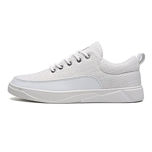 Papel Mocasines Shufang shoes para Hombre Blanco de qCCZdn