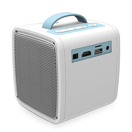 Mouwa Tragbare Mini-Projektor, Video Pocket Projector Unterstützt HD 1080P Kompatibel Mit HDMI/USB/AV/DC Ideal Für…