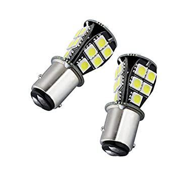 Unipower TMT LEDS(TM) 2 X BOMBILLAS LED BAY15D 1157 P21/5W CANBUS 18 LEDS SMD 5050 BLANCO POSICION FRENO COCHES MOTOS: Amazon.es: Coche y moto