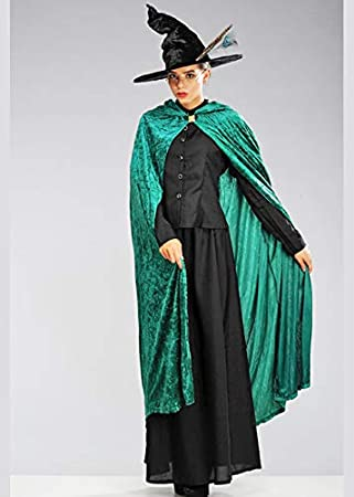 Magic Box Disfraz de Bruja Estilo McGonagall para Mujer Adulto ...