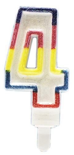 Children's Birthday Candles - Unique Party Deluxe Number Bir