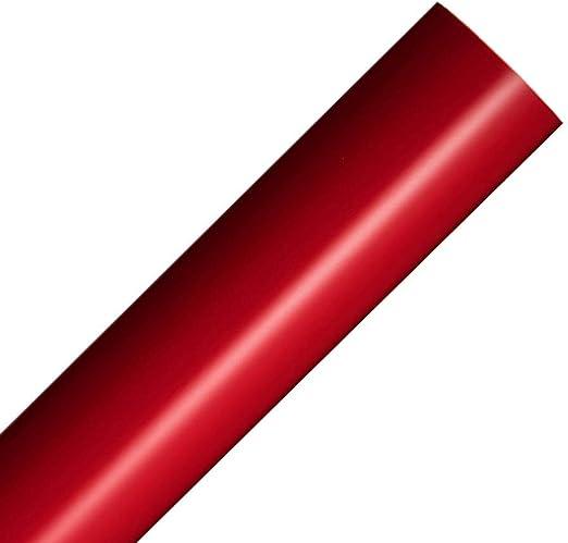 LANGING - Rollo de Vinilo Autoadhesivo reposicionable para trazadores de Corte, 30 x 300 cm, Color Rojo Mate: Amazon.es: Hogar