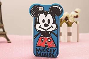 New Graffiti Comics Soft Silicone Cartoon Mickey Mouse Cute Rubber Phone Case Cover For Apple iPhone 4 4S (mickey mouse)