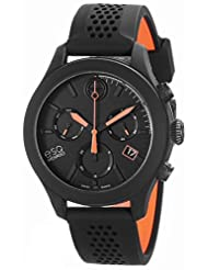 ESQ Movado Men's 07301470 One Swiss Black Stainless Steel Watch
