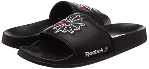 Sc Negro de Excellent SC White Red Unisex Piscina Slide 47 000 Reebok Playa Red Excellent Adulto y Black Zapatos White EU Negro 000 Classic Black tUwOH