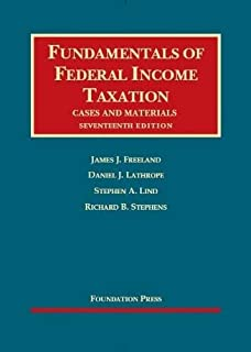 Amazon fundamentals of federal income taxation university freeland lathrope lind and stephens fundamentals of federal income taxation 17th fandeluxe Images