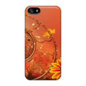 Hot Design Premium OgBfE5513BoBTc Tpu Case Cover Iphone 5/5s Protection Case(clock Falling Back)
